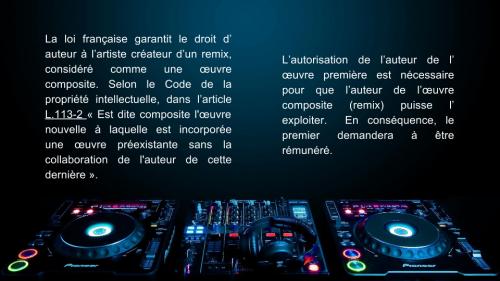 Droit d'auteurs et remix (1)